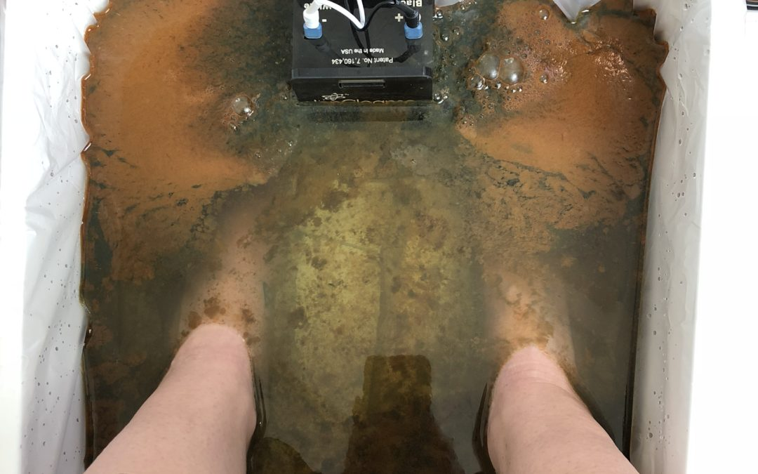 Ion Cleanse Foot Bath